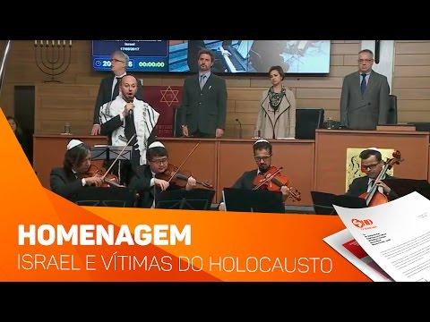 B'nai B'rith é homenageada em celebração do fim do Holocausto e Independência de Israel na Câmara