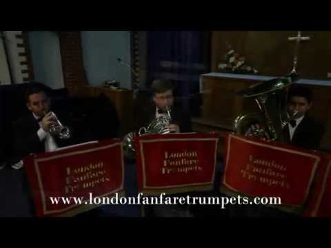 Wedding March By Mendelssohn - Brass Quintet - Recessional - London Fanfare Trumpets