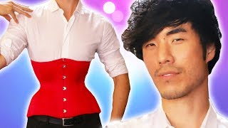 Video The Try Guys Wear Corsets For 72 Hours MP3, 3GP, MP4, WEBM, AVI, FLV Juni 2019