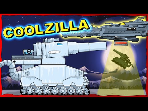 """""""Tank COOLZILLA"""" Cartoons about tanks"""