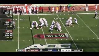 Andrew Luck vs Duke 2011