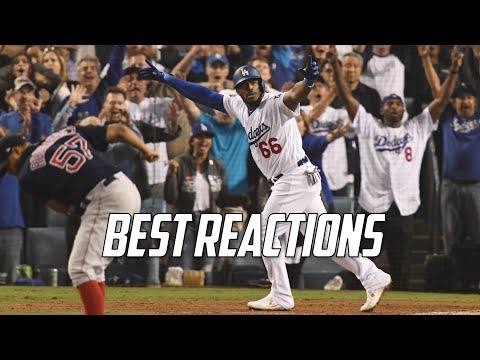 MLB   Best Reactions