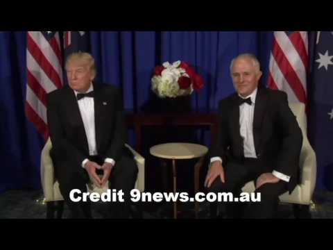 Video - Malcolm Turnbull Mocks Donald Trump