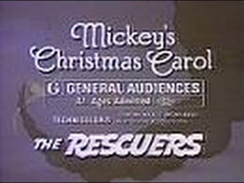 Mickey's Christmas Carol & The Rescuers (Trailer For TV, 1983)