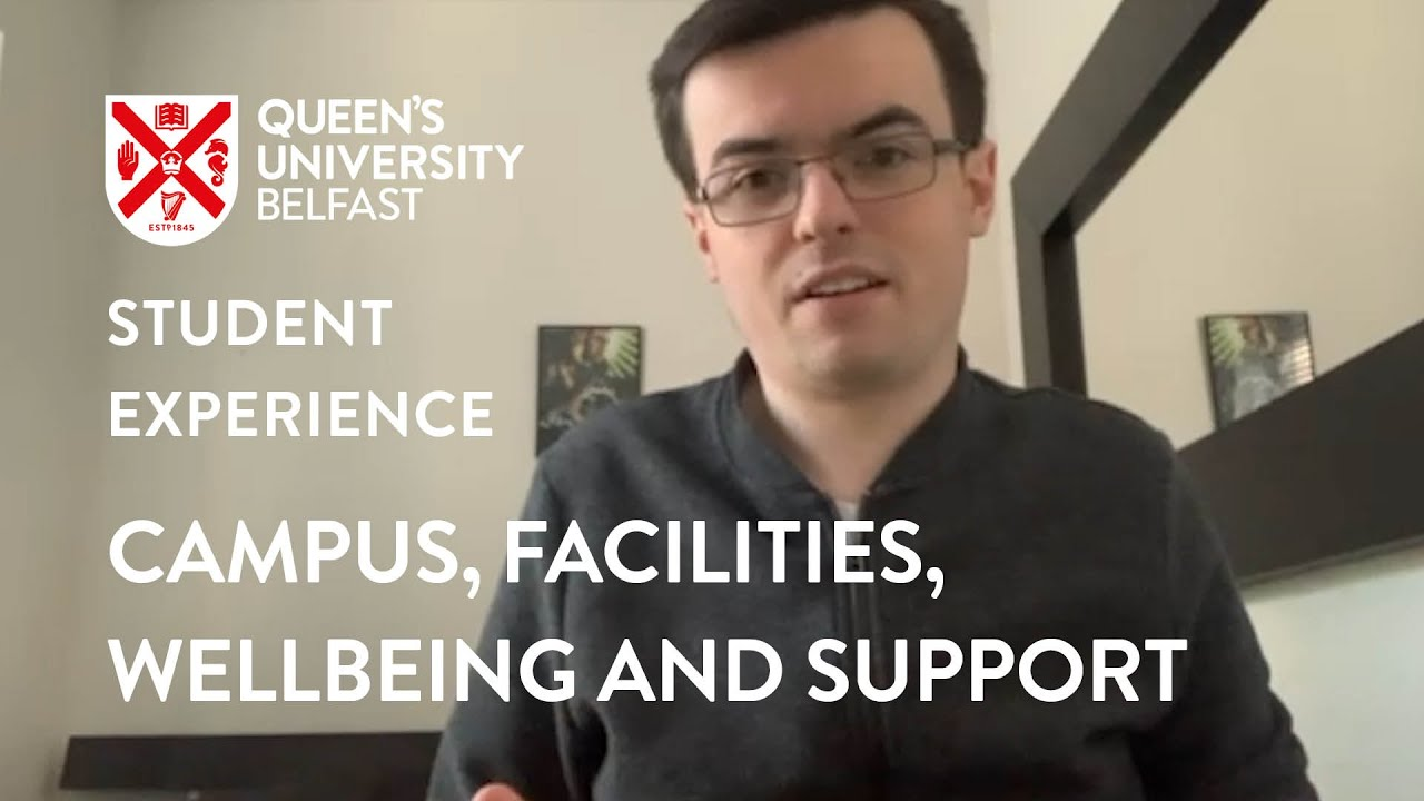 Video Thumbnail: Campus Facilities Wellbeing and Support