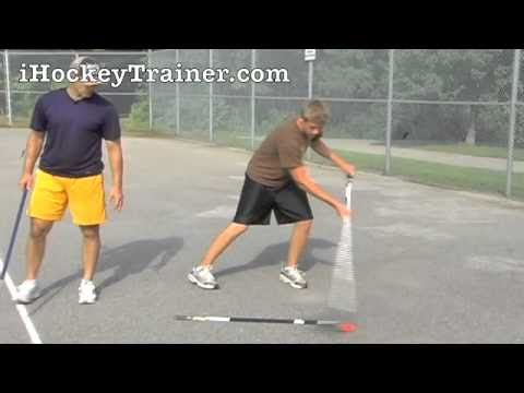 Good Hockey Drill For Skills (Range for your stick handling)