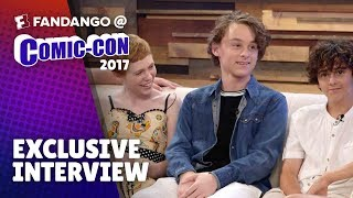 The Cast of IT - LIVE! The Cast of IT Interview: Starring Finn Wolfhard, Sophia Lillis, Wyatt Olef, Jeremy Ray Taylor, Jack Dylan Grazer, and Chosen Jacobs Comic-Con 2017 is the ultimate geek-topia for movie lovers, and Fandango is your VIP pass. We're bringing you exclusive interviews with the hottest stars and all the upcoming movies news. Set a reminder by clicking the bell so you don't miss the fun July 20th - 22rd.Thursday 7/20, starting at 5pm PST Friday 7/21, starting at 3pm PSTSaturday 7/22, starting at 3pm PST