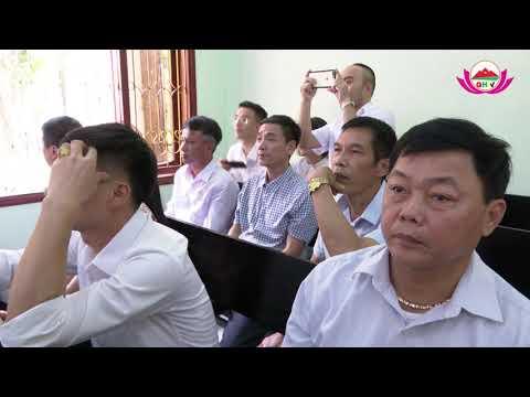 Lễ công bố Quyết định bổ nhiệm chức vụ Chánh án Tòa án nhân dân huyện Quỳ Hợp.