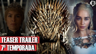Finalmente saiu a Data de estréia dá 7° Temporada de Game of Thrones, e junto com a confirmação, um Teaser mostrando cada uma das casas e seus ideais!