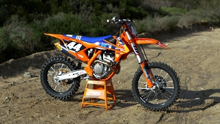 11. First Ride KTM 250 SXF Factory Edition - Motocross Action Magazine