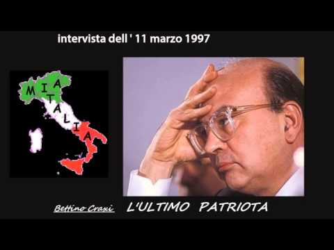 bettino craxi, l'ultimo patriota - intervista dell' 11 marzo 1997