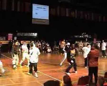 Чемпионат мира по Hip-hop 2007 в Германии(Бремен)