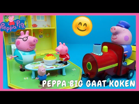 Peppa Pig Peppa's Messy Kitchen speelgoed | Family Toys Collector
