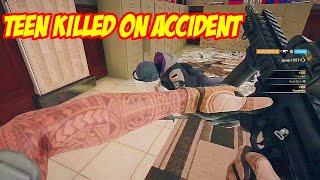 I-TEAM KILLED ON ACCIDENT RAINBOW SIX SIEGE GAMEPLAY