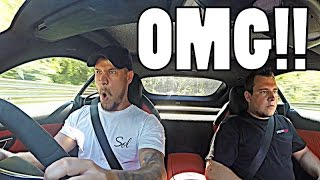 THE SCARIEST LAP OF OF MY LIFE!! by Supercars of London