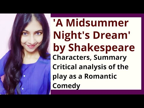 A Midsummer Night's Dream Summary and Critical Analysis | William Shakespeare
