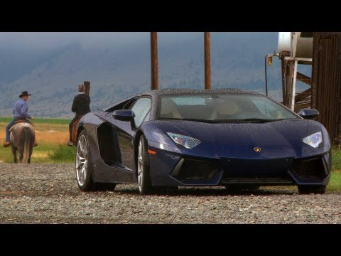 0 Big Sky, Big Speed: Maxing out a Lamborghini Aventador Roadster in Montana [Video]