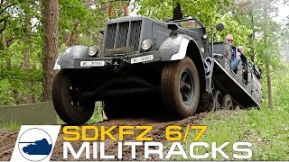 Sd.Kfz. 6 / Sd.Kfz. 7 On the Move Militracks 2017. □ Support me on my Patreon https://www.patreon.com/Panzerpicture □ Store: ...