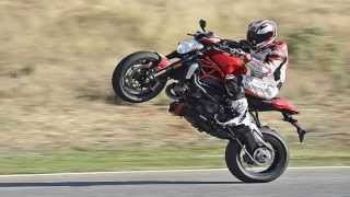 8. 2016 DUCATI MONSTER 1200R A Realy monster at speed