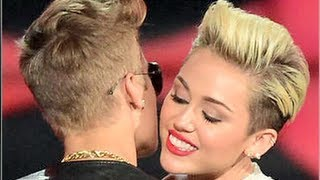 Justin Bieber & Miley Cyrus Hook Up At Club?!