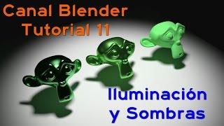 Curso Blender - 11 – La Iluminación y Las Sombras