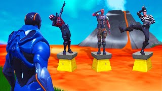 DANCE But DON'T Fall In The LAVA! (Fortnite Simon Says)