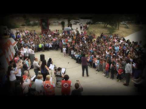 [VIDEO] Los centros educativos de Lodosa cantan por el cuidado de la tierra al unísono el tema 'Siembra'