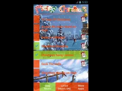 Video of Christmas Carols