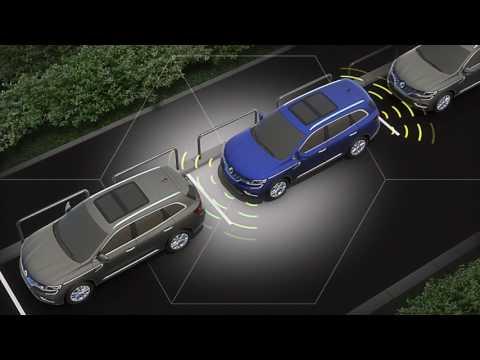 Новый Koleos (система автоматической парковки)
