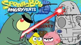 spongebob angry pants and planktons revenge