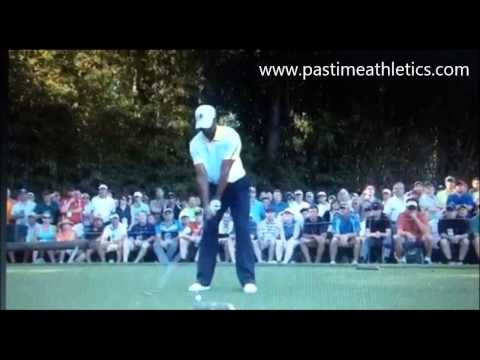 Tiger Woods Slow Motion Golf Swing – The Masters Augusta Nation Tee Shot Driver PGA Nike Guan
