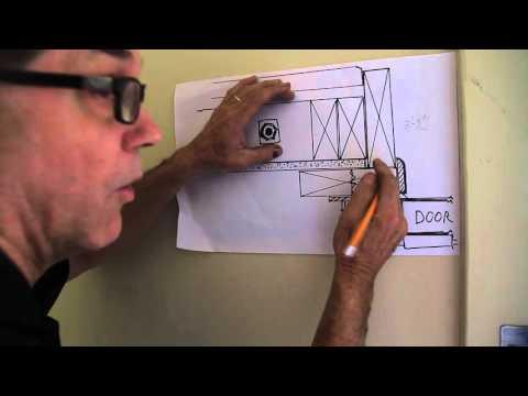 How to frame up for a garage door - Baton Rouge - Overhead Door - Part 1
