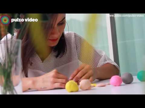 Martina 'La Peligrosa' explica con plastilina cómo cambiar veneno por amor