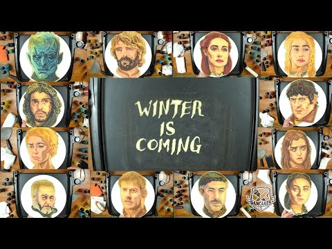 Game of Thrones Pancake Art 958429105508129017