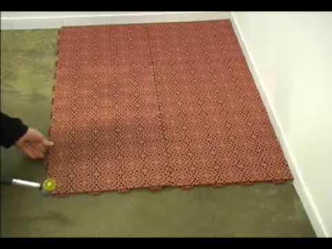 Losetas pvc exterior videos videos relacionados con for Losetas suelo exterior