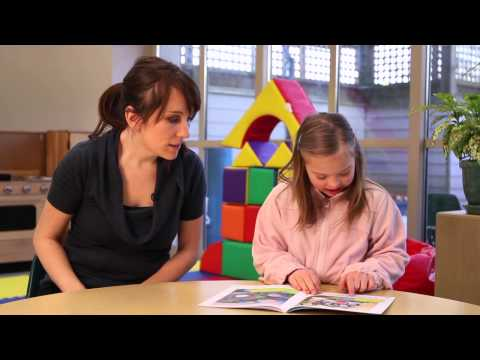 Watch video Successful strategies for Beginner Readers with Down Syndrome