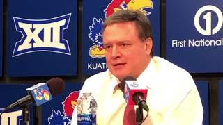 Kansas Head Coach Bill Self after KU's win over West Virginia