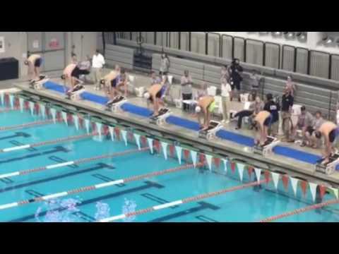2016 Austin Grand Prix - 100m Schmeeterling Männer - Schooling vs. Phelps