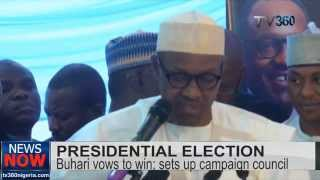 Buhari Vows To Win Nigeria's Presidential Election