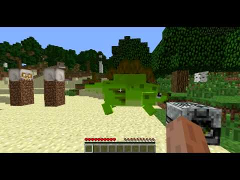 MineCraft Mod Reviews - JURASSIC PARK!!! (Part 4)