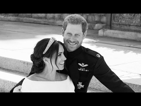Offizielle Hochzeitsbilder von Harry und Meghan ver ...