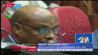 MCAs' Bizarre Call: Leaders Want The General Election To Be Held In March 2018