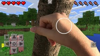 Minecraft Pocket Edition In Real Life.