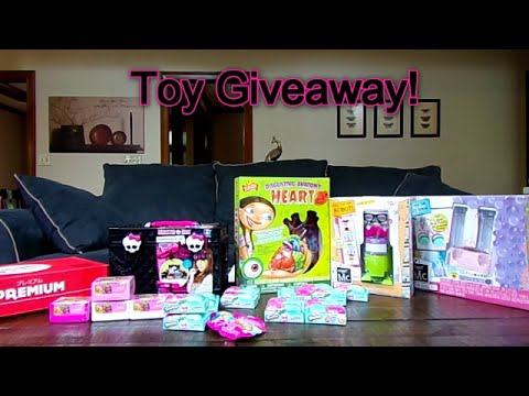 Toy Giveaway 2016 (closed)-Chloe's Toy Time (видео)