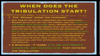 Gary Stearman The Pre-TribulationRapture,Daniels 70th week,Persecution