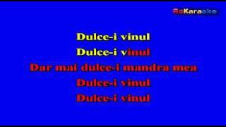 RO-MANIA-Dulce-i Vinul KARAOKE Etno Dance