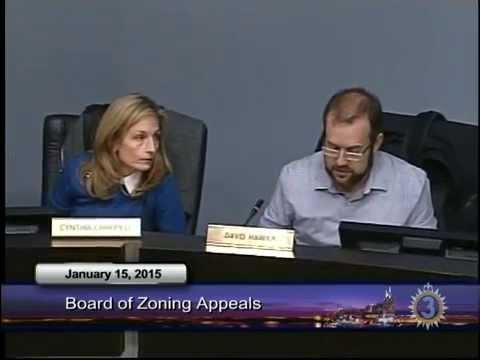 01/15/15 Metro Board of Zoning Appeals Meeting