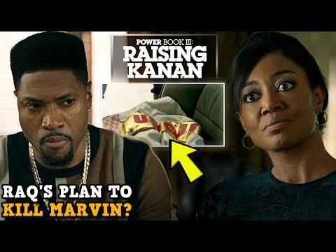 Power Book III: Raising Kanan 'DID RAQ PLAN TO KILL MARVIN & SET UP UNIQUE?' Key Clues Explained