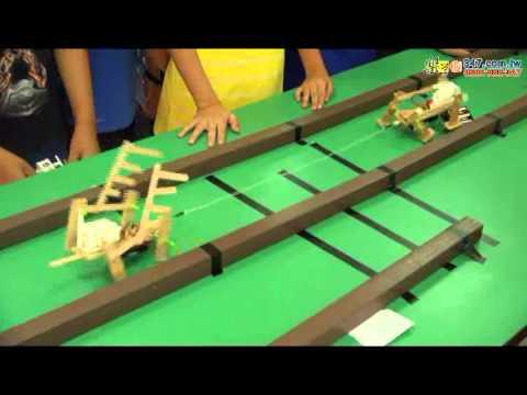 樂學網線上補習-思頂機器人-2014夏令營 萬獸之王拔河PK賽