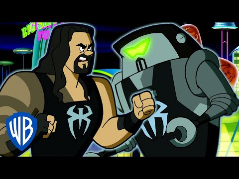 Jetsons & WWE: Robo-Wrestlemania! | Battling Bots | WB Kids